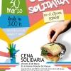 Cartel Cena Solidaria
